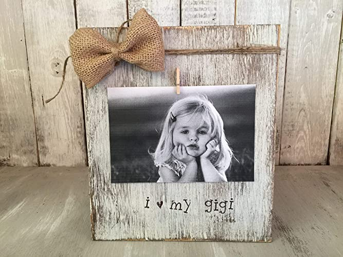 Amazoncom Personalized Grandmother Picture Frame Board I Love My