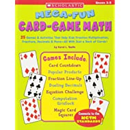Mega-Fun Card-Game Math, Grades 3-5