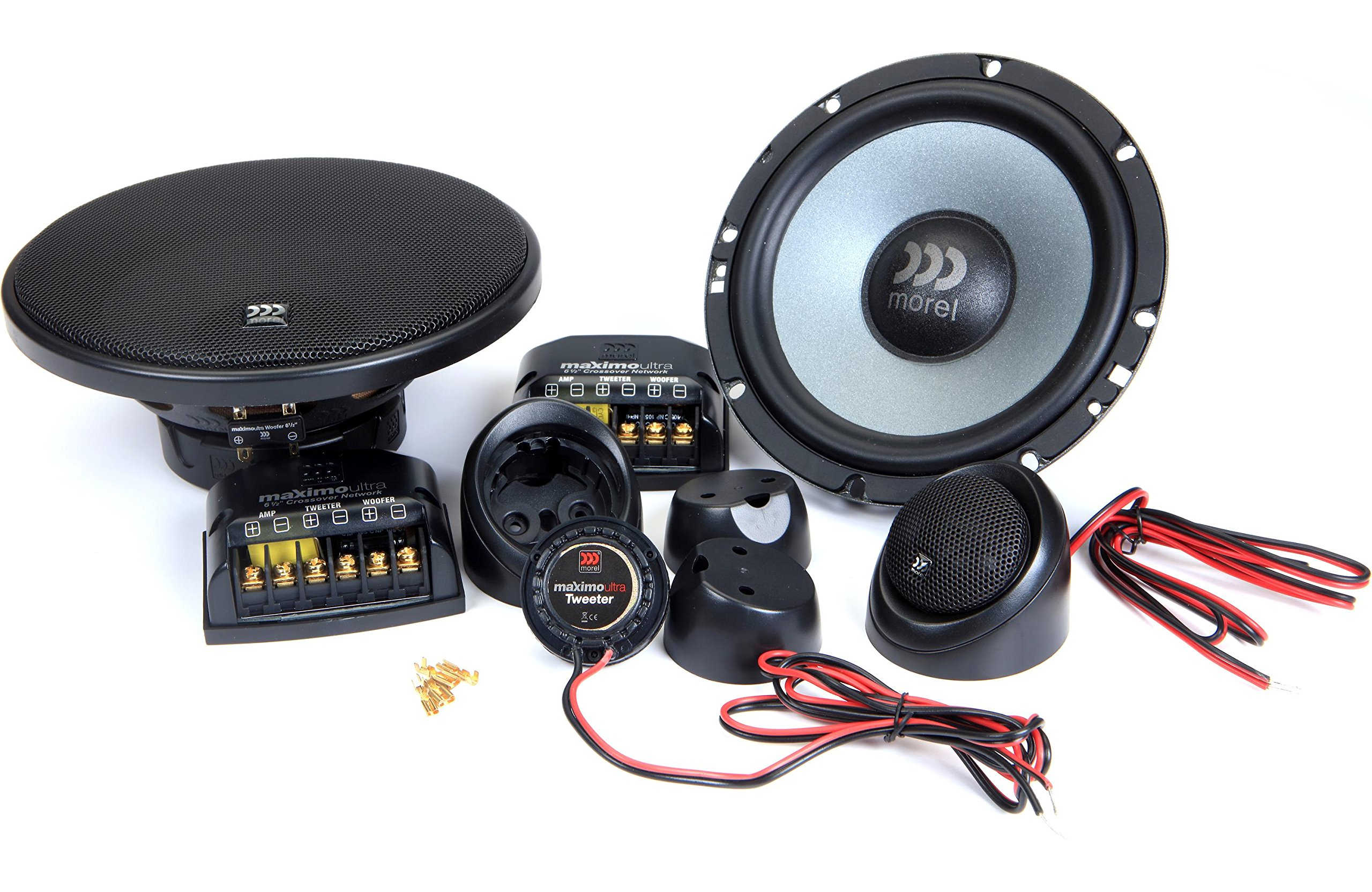 Morel Maximo Ultra 602 6-1/2'' Car Audio component speaker system