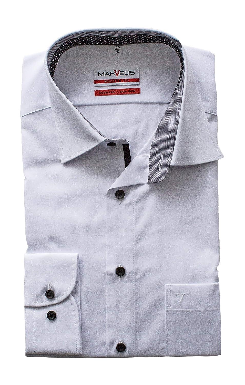 Marvelis Business Hemd mit Kragen