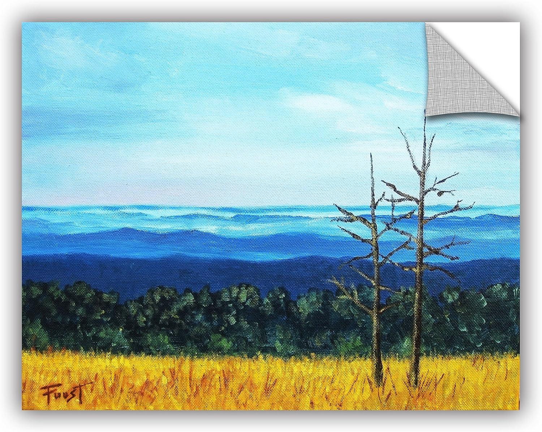 12 x 24 ArtWall Gene Fousts Mountain Side Livng Art Appeelz Removable Wall Art Graphic