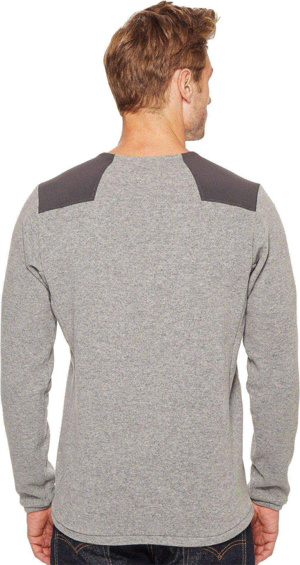 Arc'teryx Donavan Crew Neck Sweater - Men's Light Grey Heather, L by Arc'teryx (Image #3)