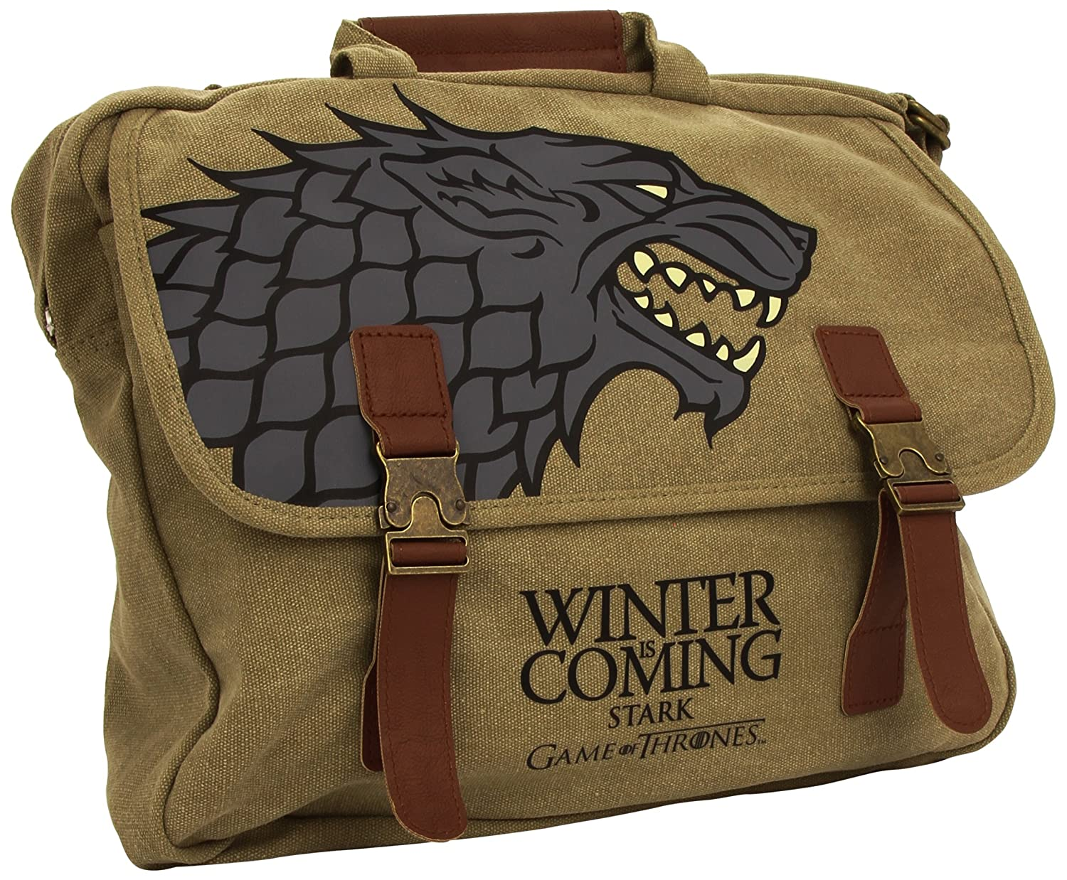 SD Toys Unisex Umhä ngetasche Game of Thrones Umhä ngetasche Stark Mehrfarbig SDTHBO02297