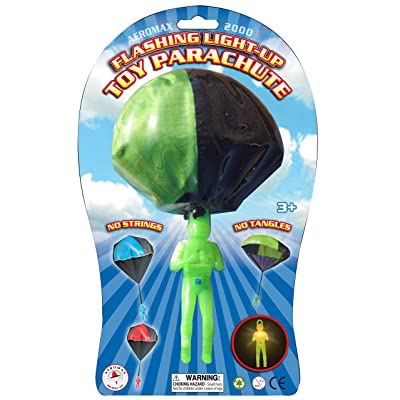 Aeromax Light Up Parachute: Toys & Games