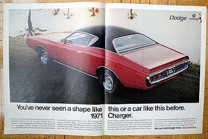 2 Door Charger >> Amazon Com 1970 Dodge Charger 500 Red 2 Door Auto Original