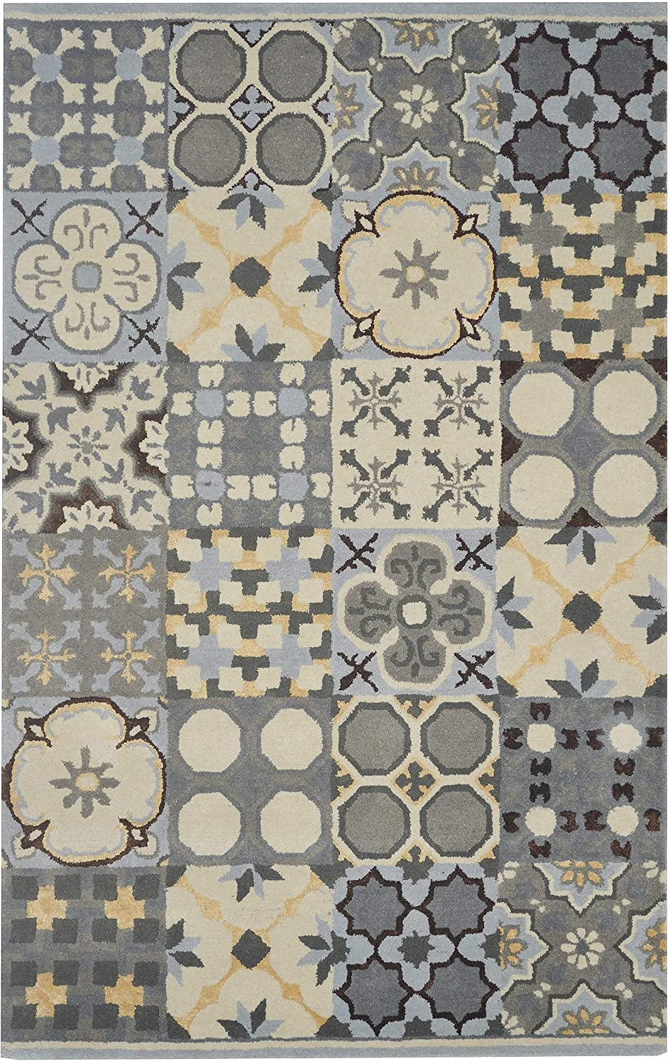 Rizzy Home Bradberry Downs Collection GV8629 Hand-Tufted Area Rug