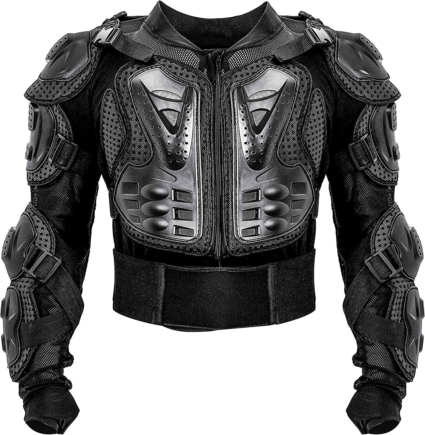 Motorcycle Armor Body Guard Vest Street Bike Riding Off-Road Racing Cycling Skiing Motocross Adult Chest Body Protector Shirt Jackets Clothing Men Sport Back Protection Vests Gear Protective