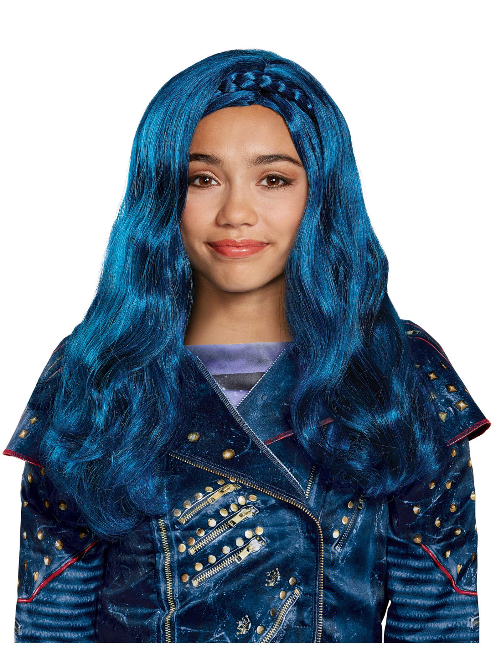 Disney Evie Descendants 2 Wig, One Size by Disguise