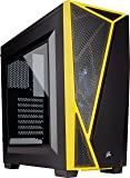 Corsair Carbide SPEC-04 Mid-Tower Gaming Case - Black and Yellow - CC-9011108-WW