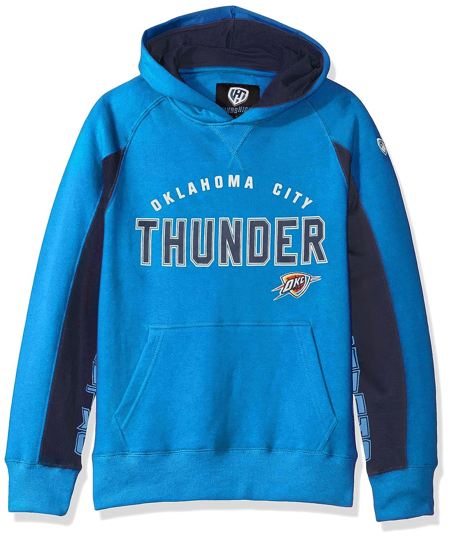 Blue Large NBA Oklahoma City Thunder Mens Centerfield Pullover Hoody