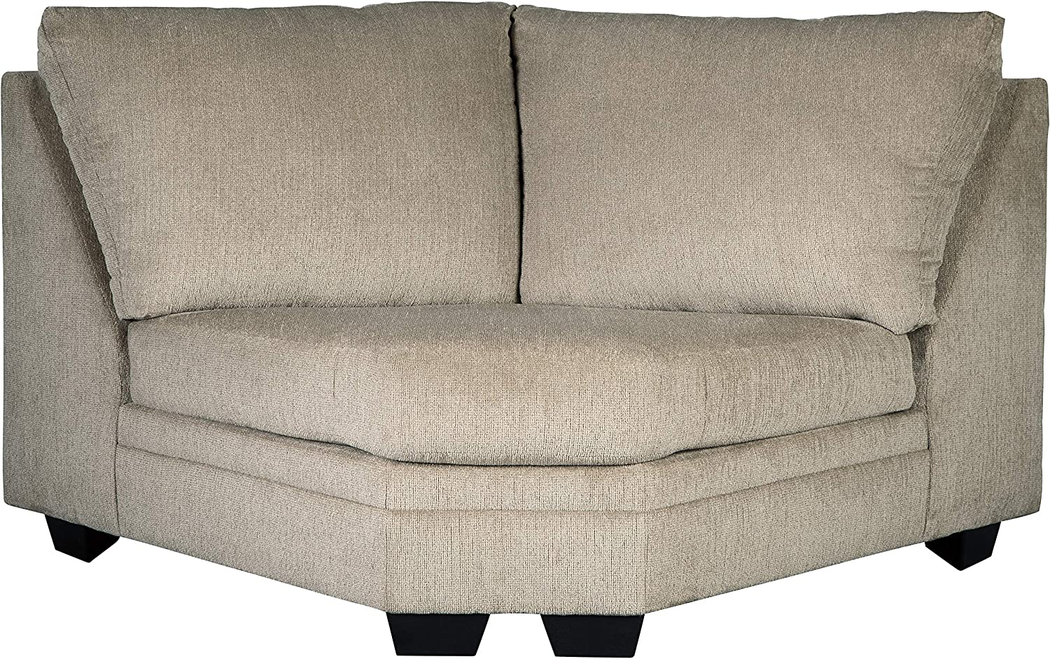 Signature Design by Ashley - Dorsten Contemporary Wedge - Standalone Chair or Sectional Component, Sisal Beige