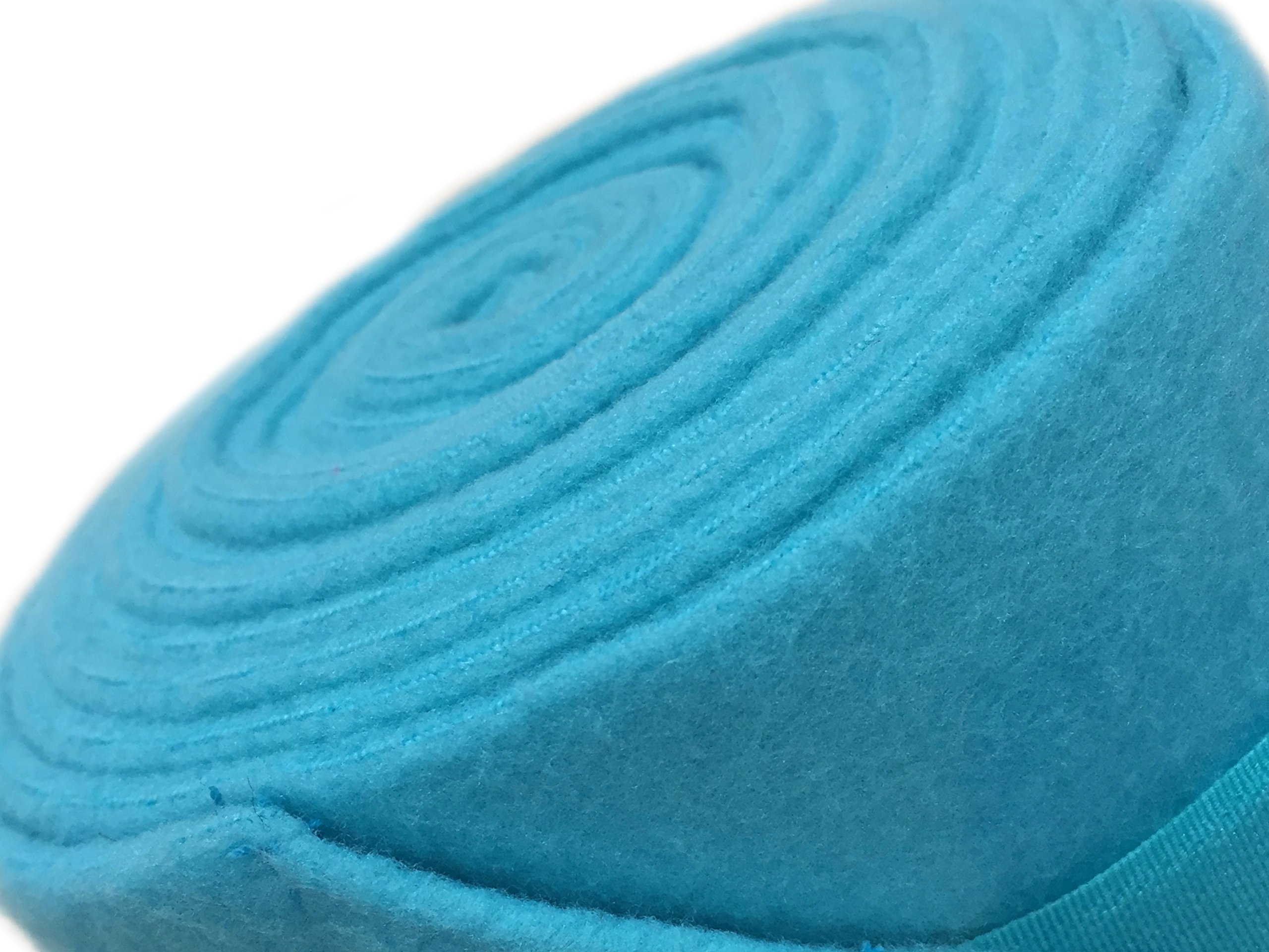 PRI Horse Leg Protection Set of Four Fleece Polo Wraps, Turquoise, Horse Size