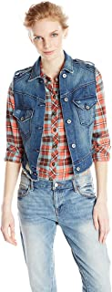 product image for James Jeans Women's Vega Low-high Vest in Indiio