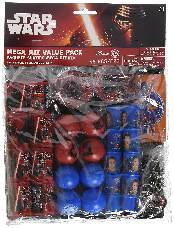 Amazon.com: Amscan Star Wars Episode VII Mega Mix Value Pack ...