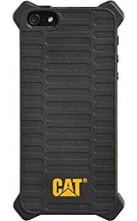 943e1fd159dd12 CAT Black Caterpillar Active Utility Shock-Absorbing Heavy Duty Case for  Apple iPhone 5/