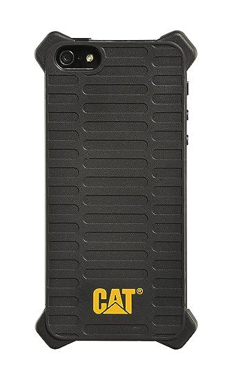 buy online 61d28 dc9cf CAT Black Caterpillar Active Utility Shock-Absorbing Heavy Duty Case for  Apple iPhone 5/5S - CATAUTIP5S