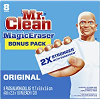 Mr. Clean Magic Eraser Original, Cleaning Pads with Durafoam, 8 count (Packaging May Vary)