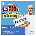 Mr. Clean, Almohadillas de Limpieza Magic Eraser, Caja de 8 Unidades