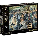 Clementoni - 31412.6 - Puzzle Collection High Quality - 1000 Pièces - Bal du Moulin de la Galette - Renoir
