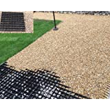 GARDEN SHED BASE GRID 2.5M X 2M SUITS 8X6 SHEDS & 8.5X7 FEET SHEDS = FULL ECO KIT + HEAVY DUTY MEMBRANE - PLASTIC ECO PAVING SLAB BASES & DRIVEWAY GRIDS