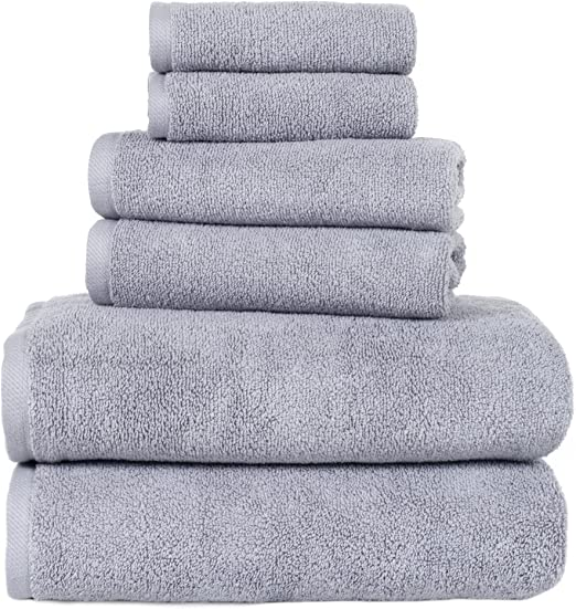 "Set of 2 100/% Zero Twist Cotton Hand Towels 16/"" x 28/"" Size"