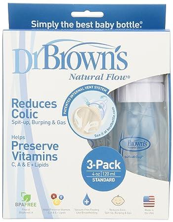 Dr. Browns BPA Free Polypropylene Natural Flow Standard Neck Bottle