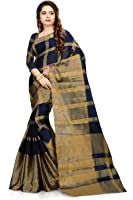 Ruchika Fashion Women Embroidered cotton silk Sarees With Blouse piece For Party wear,Wedding,Casual sarees