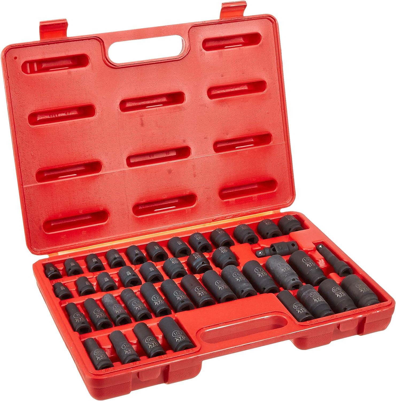 "Sunex Tools 3580 3//8/"" Drive Master Socket Accessory And Torx Set"