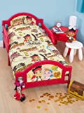 Character World Disney Jake & the Neverland Pirates 'Treasure' Toddler Bed Duvet Cover & Pillowcase Set by Character World