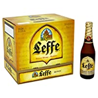 Leffe Blonde Abbey Beer, 12 x 330 ml