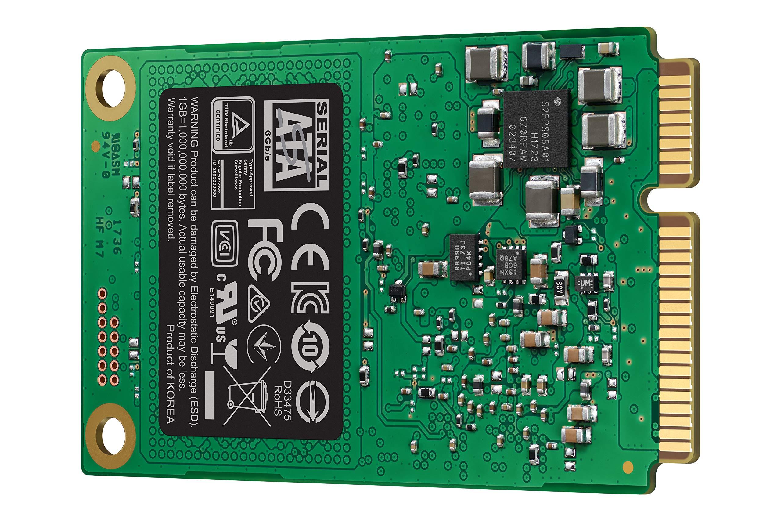 Samsung SSD 860 EVO 1TB mSATA Internal SSD (MZ-M6E1T0BW) by Samsung (Image #2)