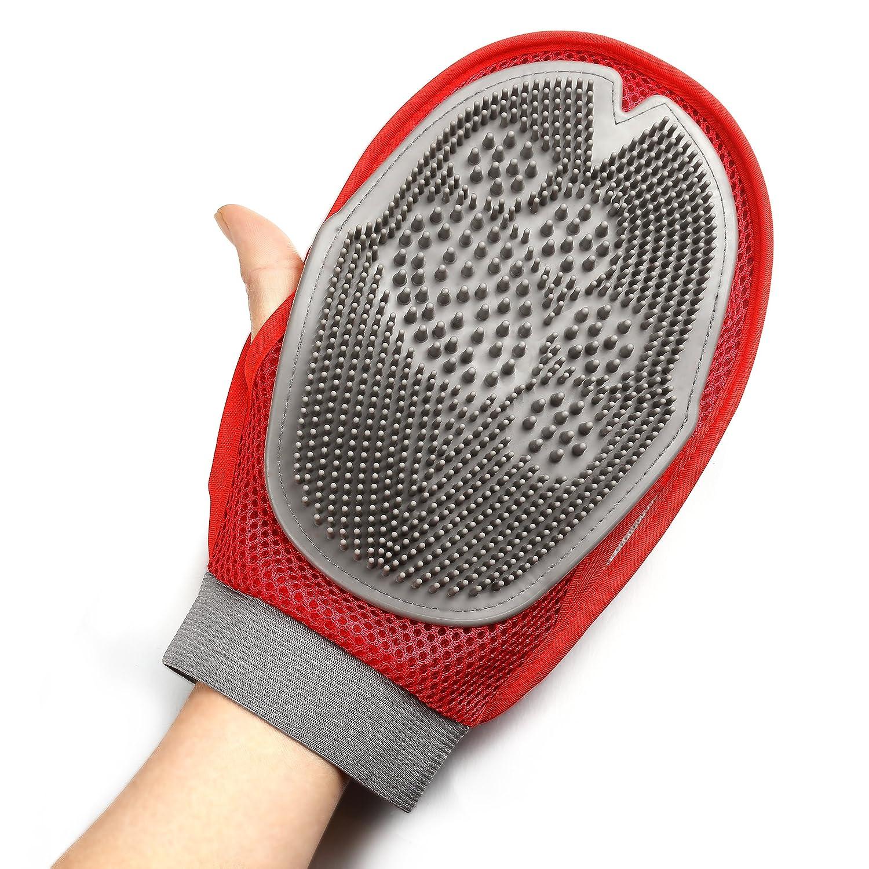 GAINWELL Pet Grooming Glove FBA_HTRB22