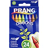 Prang Crayons, Standard Size, Assorted Colors, 24 Count (00400)