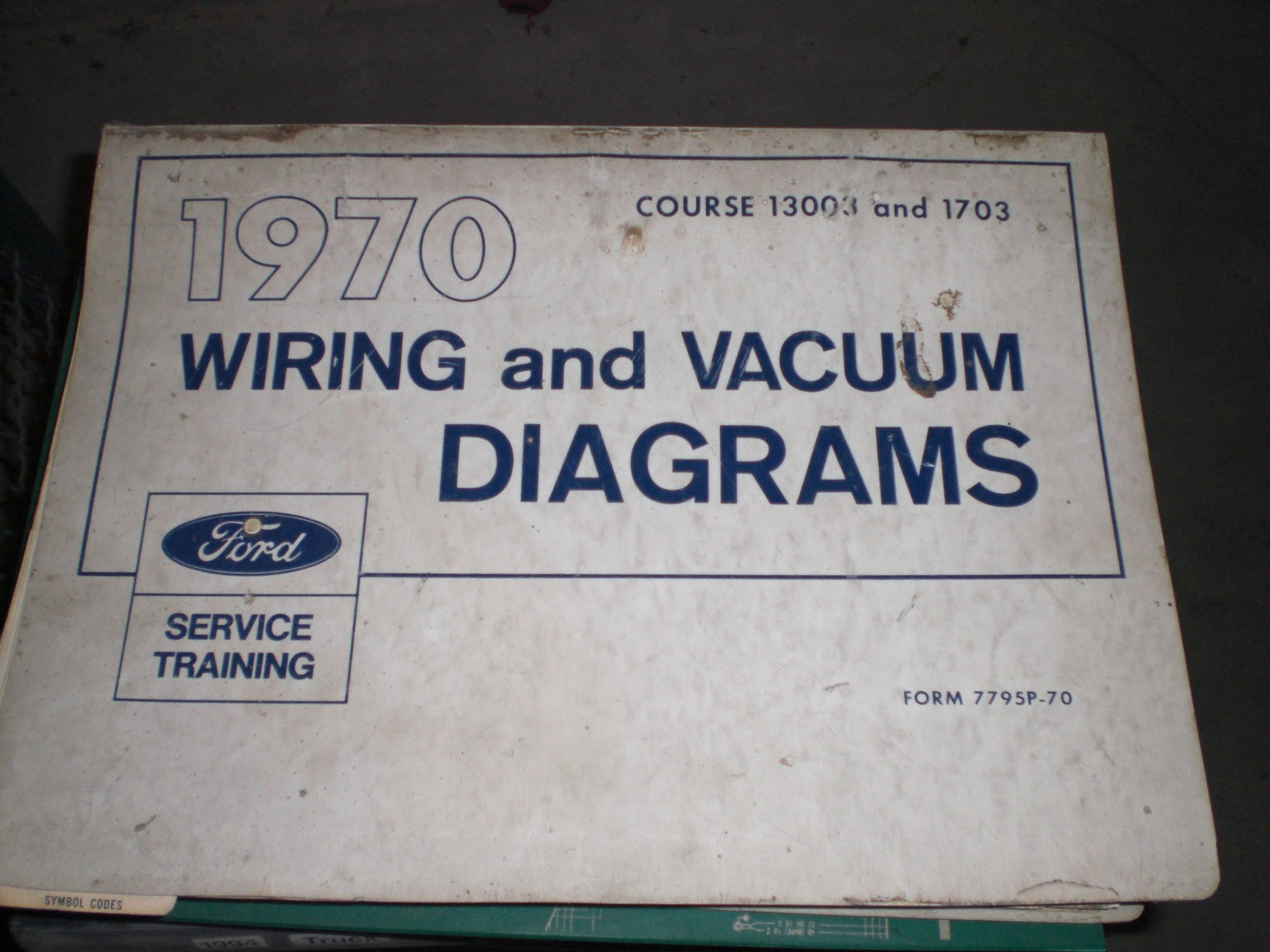 70 Ford Wiring Diagram