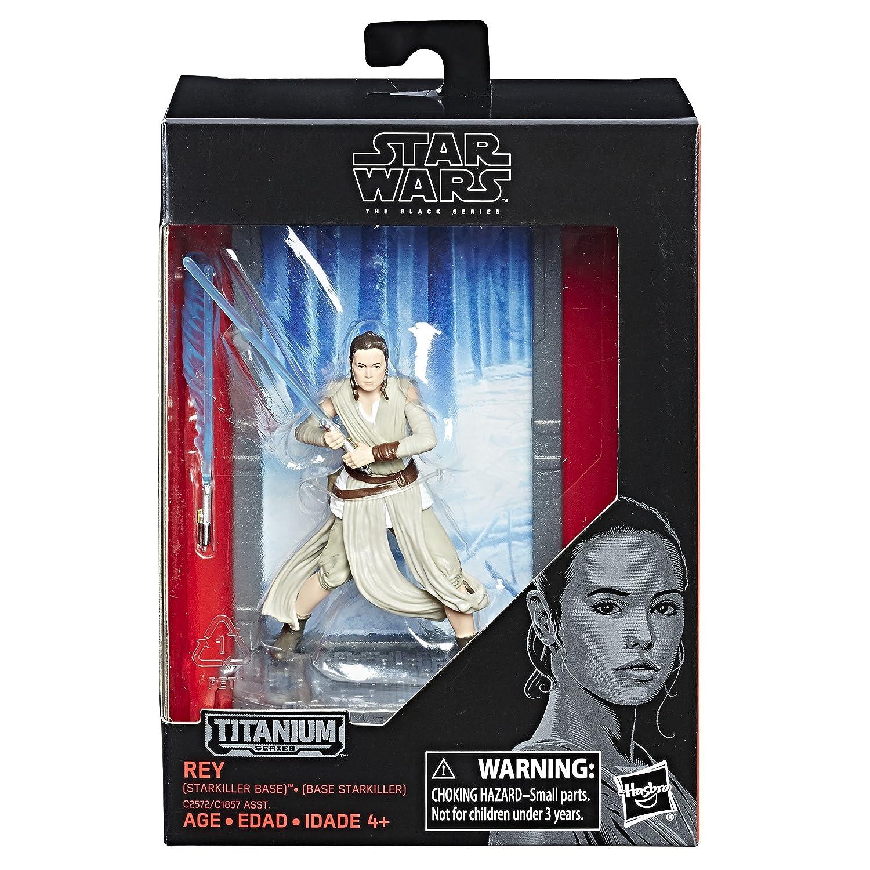 Starkiller Base Hasbro C2572AS0 Star Wars The Black Series Titanium Series Rey