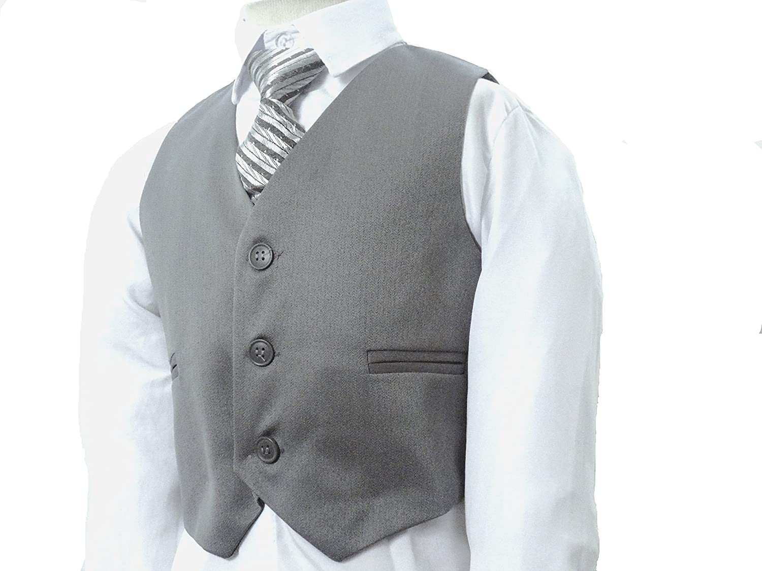 Gorgeous Collection Boys Wedding Grey Suit Proms Cruises /& Partys 6 Months 14 Years