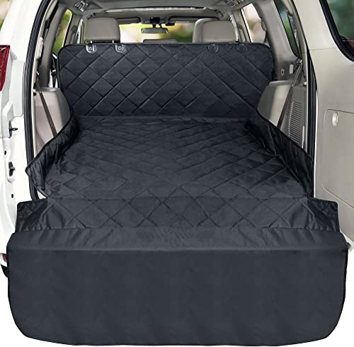 Veckle Cargo Liner, Waterproof SUV Cargo Cover for Dog Nonslip Mat Dog Seat Cover Scratchproof Cargo Protector for SUVs Sedans Vans