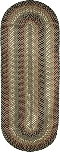 Super Area Rugs Santa Maria Braided Rug Indoor Outdoor Rug Washable Reversible Patio Deck Carpet