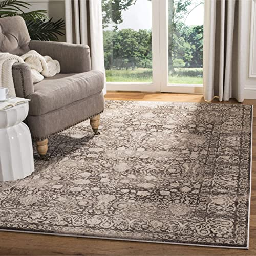 Safavieh Serenity Collection SER213H Brown and Cream Area Rug 8 x 10