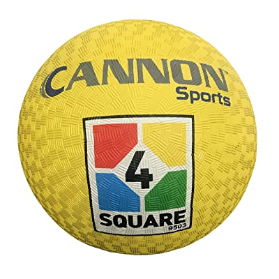 Cannon Sports 4-Square Utility Playground Ball : Sports & Outdoors