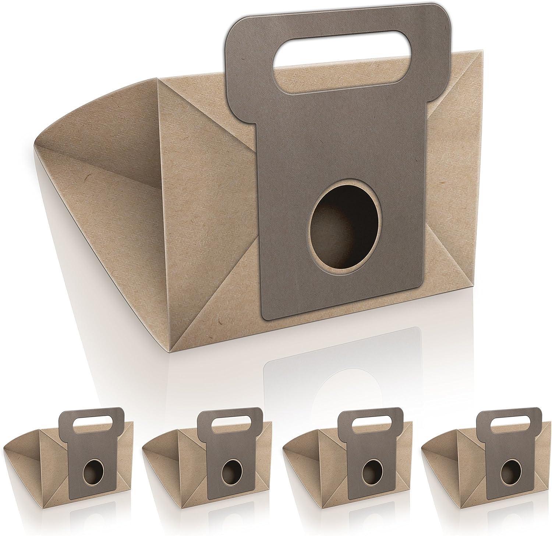 WESSPER® Bolsas de aspiradora para Moulinex PowerStar 1500w (5 piezas, papel): Amazon.es: Hogar