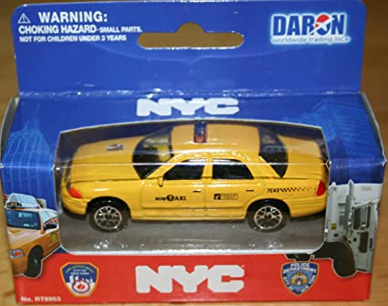 768e339809cac Daron NYC New York City Taxi Cab Ford Crown Victoria 1:64 Scale Diecast