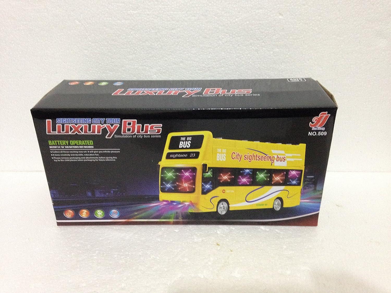 London Double Decker Tourist Bump /& Go Bus-Sound /& LED Light Souvenir Toy Gift