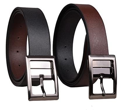 9bf599844 Reversible Genuine Leather Belt For Men  Amazon.in  Clothing ...
