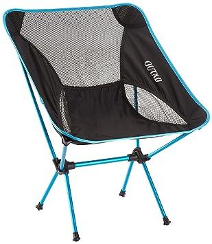 OUTAD Silla de Camping Plegable