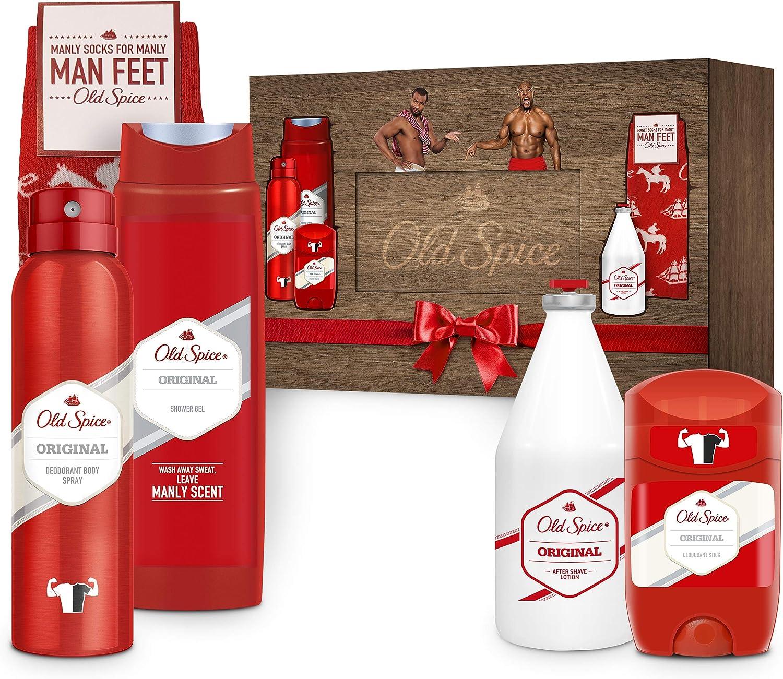 Old Spice Set de regalo original para hombre, paquete de 4