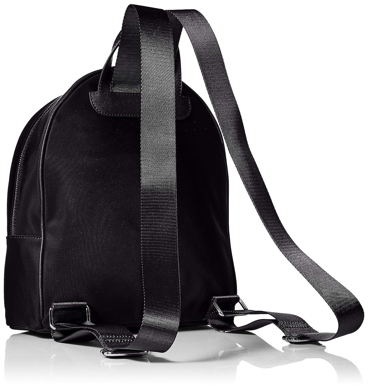 Karl Lagerfeld Paris Cara-ryggsäck för kvinnor Svart/guld