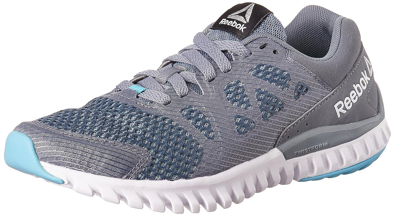 Reebok Women's Twistform Blaze 2 Mu Mtm Dust, Grey, Blue and Black Running  Shoes - 7 UK/India (40.5 EU) (9.5 US): Amazon.in: Shoes & Handbags