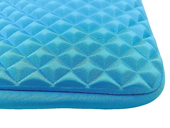 Red AZ-Cover 14-Inch Simplicity Stylish Diamond Foam Shock-Resistant Neoprene Sleeve For Dell Laptop Latitude E6440 14 i5