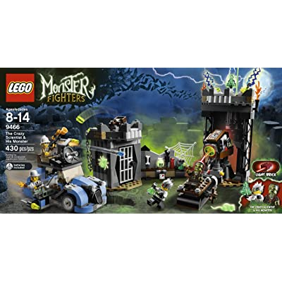 LEGO Monster Fighters The Crazy Scientist & His Monster #9466: Toys & Games